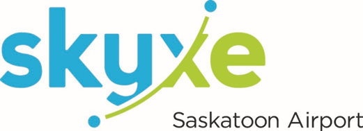 Skyxe Saskatoon Airport strives to exceed the expectations of our guests, partners, and community by providing service quality initiatives that meet our vision to be Canada's Most Valued Airport Experience. On the heels of a newly expanded air terminal building and being awarded the Most Improved Airport in North America (<2M passengers) for 2015 from Airports Council International (ACI), Skyxe has recently been recognized as the Best Airport in North America (<2M passengers) for 2016 from ACI. Skyxe Saskatoon Airport is the all-encompassing brand name for both the location Saskatoon John G. Diefenbaker International Airport and the operator Saskatoon Airport Authority.